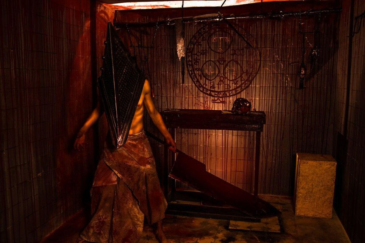 1 Photo quest room Silent Hill. Alchemilla Asylum in the city Kyiv
