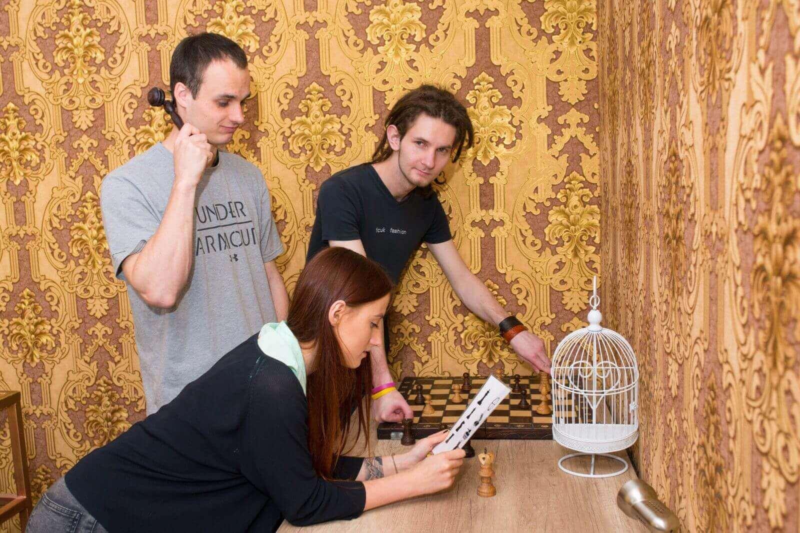 1 Фото квест комнаты Голодные игры в городе Киев