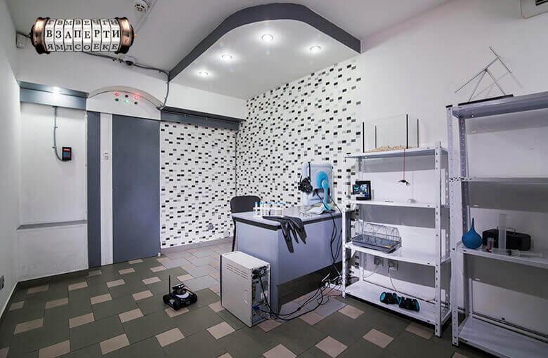 1 Фото квест кімнати Лабораторія в місті Київ