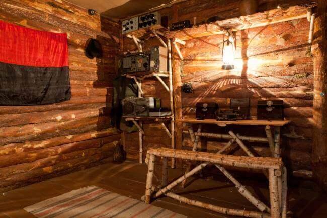 Фото квест комнаты Крыивка(Партизаны) в городе Киев