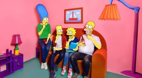 Картинка квест комнаты Симпсоны в городе Львов