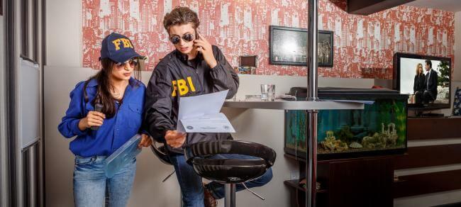 Фото квест комнаты FBI: служебное расследование в городе Киев