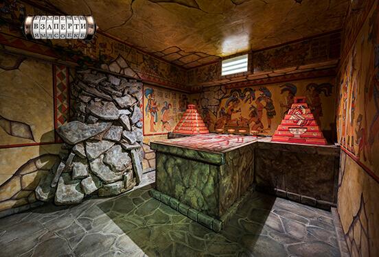 Картинка квест комнаты Майя: конец эпохи в городе Киев