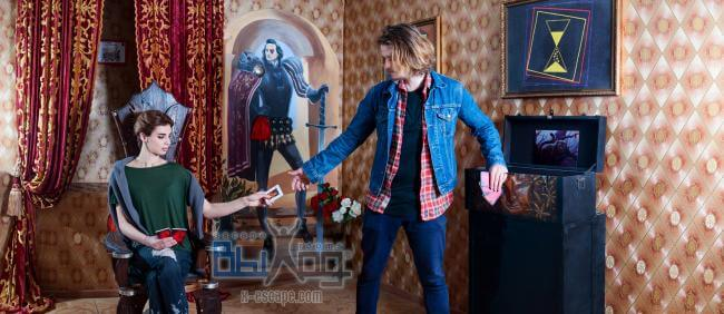 Фото квест комнаты Алиса в стране чудес в городе Одесса