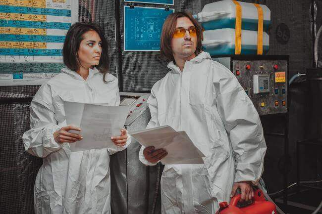 Picture quest room Laboratory Cooking Bad в городе Lviv
