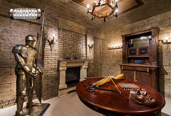 Picture quest room Merlin`s Tower в городе Kyiv