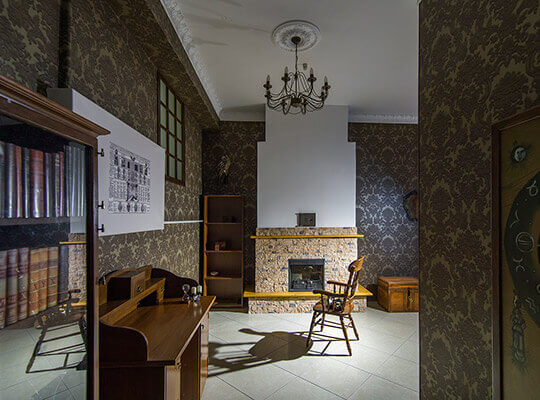 Картинка квест комнаты Алхимик в городе Харьков