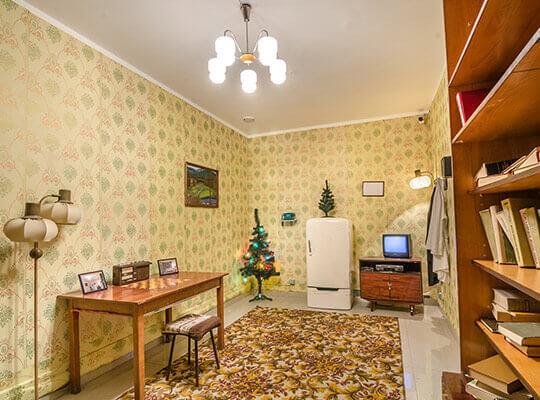 Картинка квест комнаты Подпольная лаборатория в городе Львов