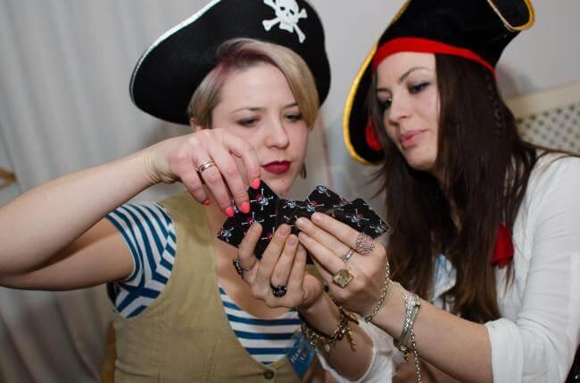 Фото квест комнаты Черная метка в городе Киев