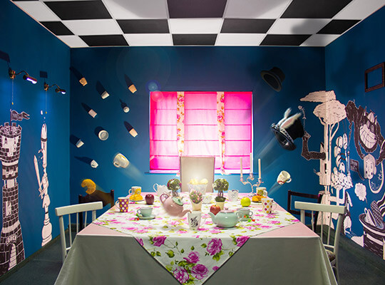 Фото квест комнаты Следуй за Белым Кроликом в городе Днепр