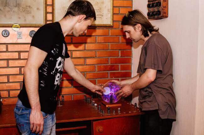 Фото квест комнаты Тесла в городе Львов