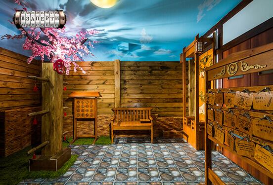 Картинка квест комнаты Путь самурая в городе Киев