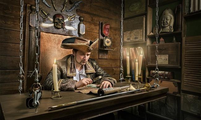 Картинка квест комнаты Пиратский квест в городе Харьков