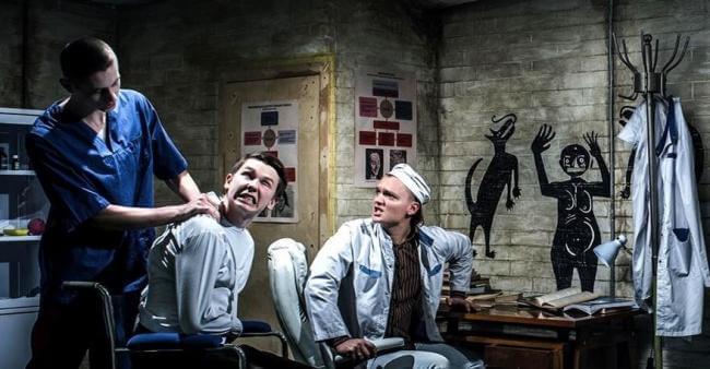 Картинка квест комнаты Обитель проклятых: Шоковая терапия в городе Киев