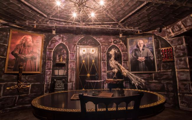 Картинка квест комнаты Гарри Поттер в городе Киев
