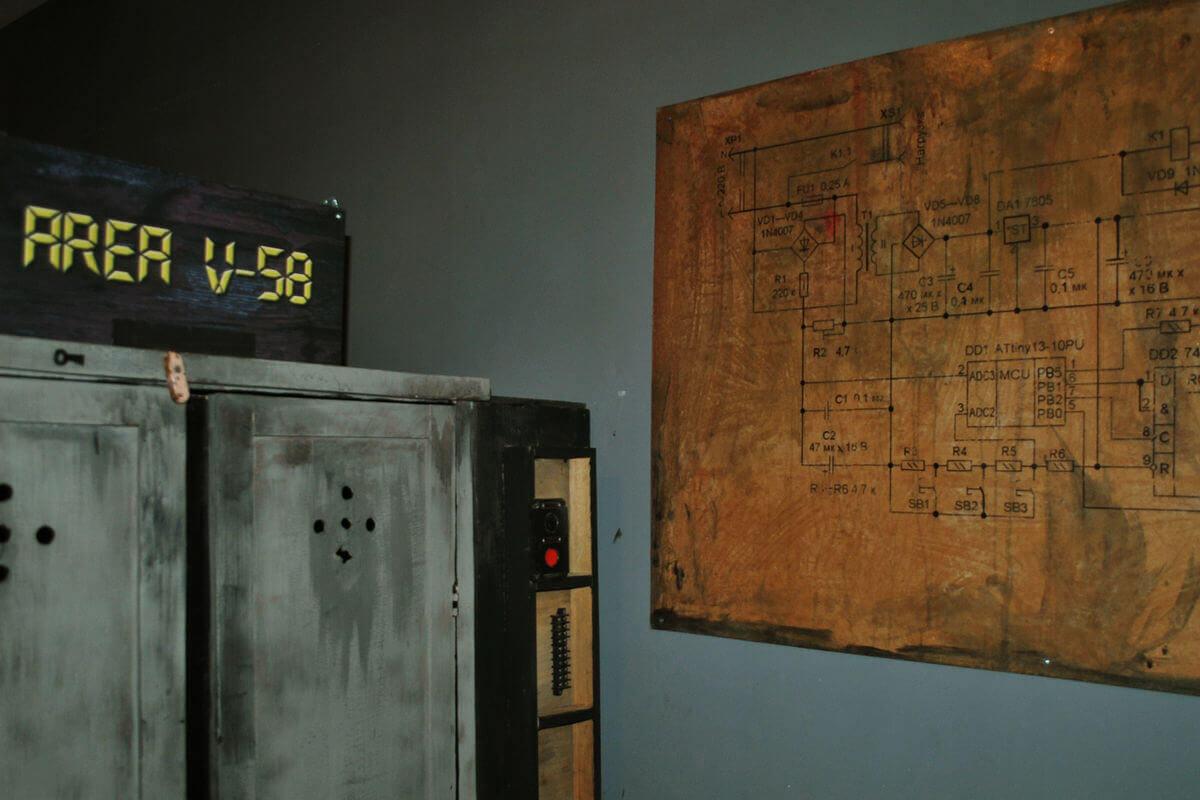 2 Фото квест комнаты Сталкер в городе Львов