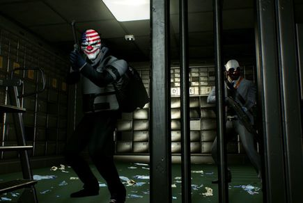 Picture quest room PayDay2 в городе Odessa