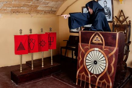 Фото квест комнаты Масонский заговор в городе Одесса