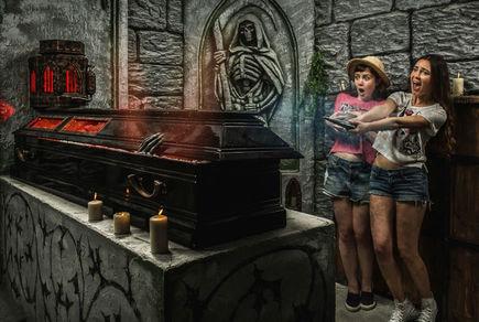 Картинка квест комнаты Гробница Графа Дракулы в городе Киев