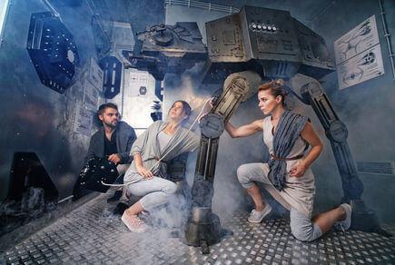 Картинка квест комнаты Звездные войны в городе Киев