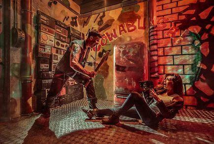 Картинка квест комнаты Черепашки ниндзя в городе Киев