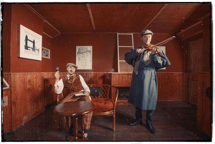 Картинка квест комнаты Шерлок Холмс в городе Чернигов