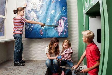 Картинка квест комнаты Рыцари холодного сердца в городе Одесса