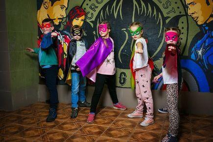 Картинка квест комнаты Портал супергероев в городе Киев