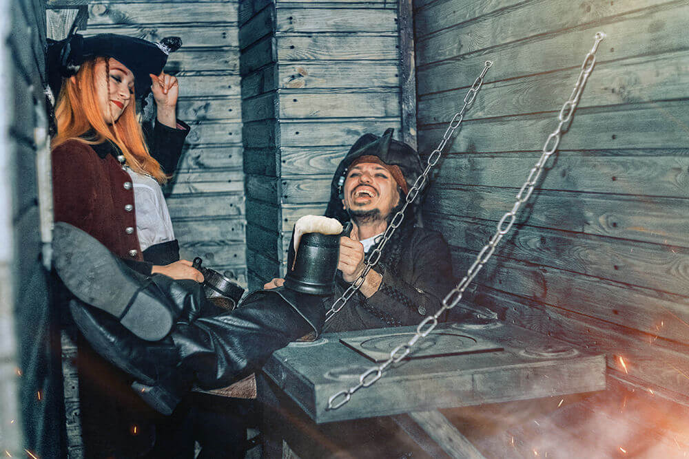 1 Photo quest room Pirates of the Caribbean in the city Kyiv