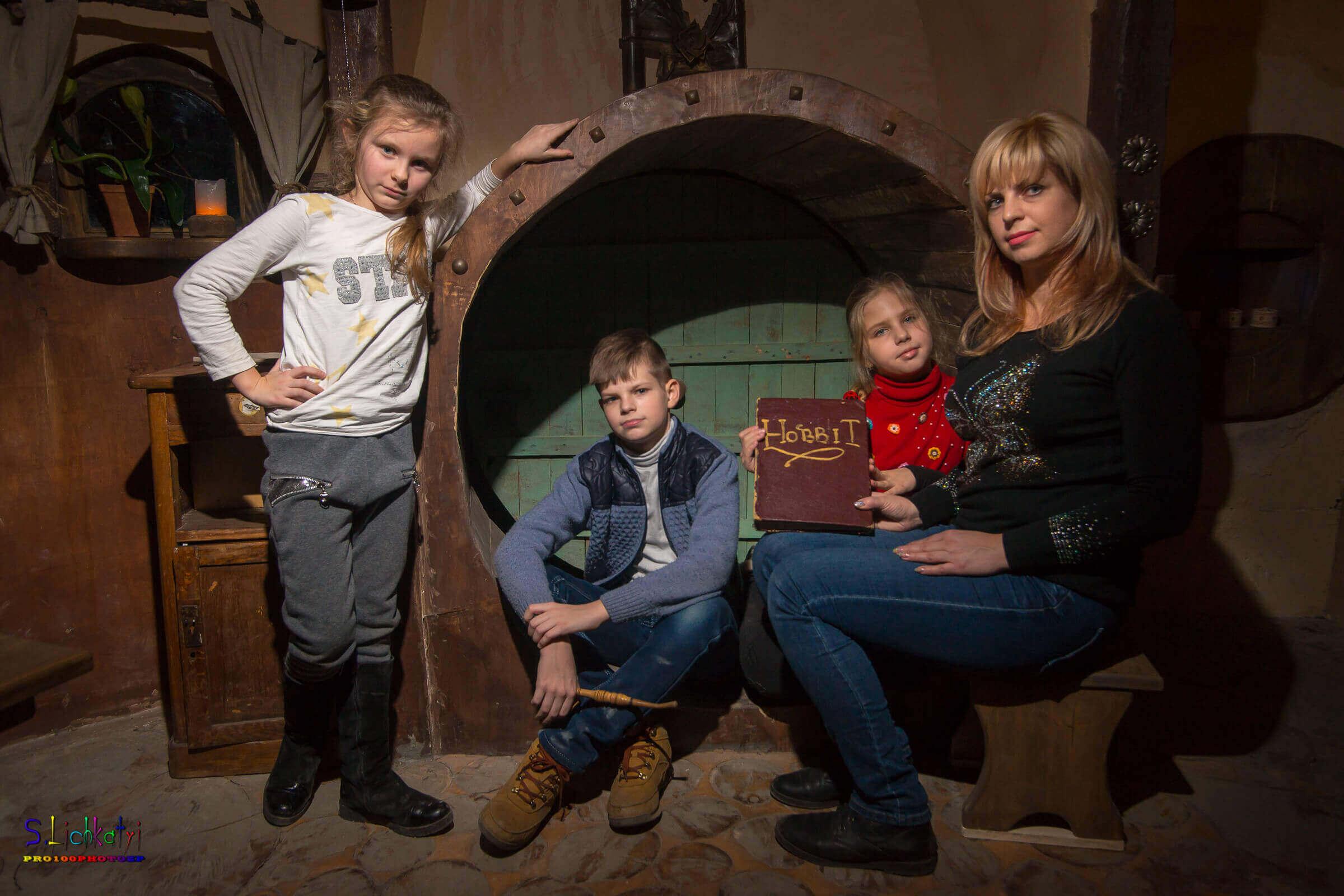 3 Фото квест комнаты Хоббит в городе Запорожье