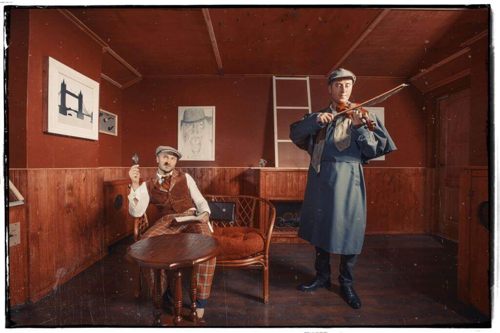 1 Photo quest room Sherlok Holms in the city Chernigov