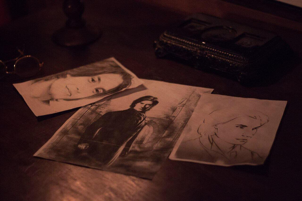 1 Фото квест комнаты Портрет Дориана в городе Днепр