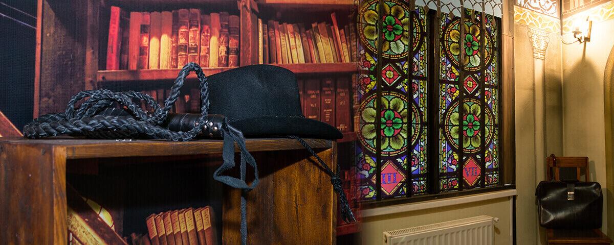 3 Фото квест комнаты Индиана Джонс в поисках Грааля в городе Харьков